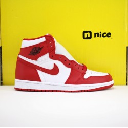 Nike Air Jordan 1 WMNS UNC to Chicago AJ1 Unisex Basketball Shoes Red White Q4921-601