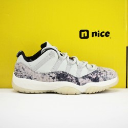Nike Air Jordan 11 AJ11 Low Mens Basketball Shoes Snake Skin CD6846 002