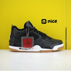 Nike Air Jordan 4 Black Laser Mens Basketball Shoes CI1184-001