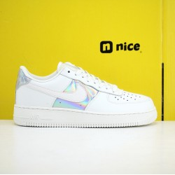 Nike Air Force 1 07 Low AF1 Unisex Shoes White Blue Sneakers CJ9704 100