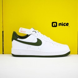 Nike Air Force 1 Low 07 Unisex Shoes White Green Sneakers CD6915-102