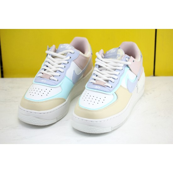 Nike Air Force 1 Shadow AF1 Womens Shoes Blue Pink White Sneakers CI0919 106 Online Shop