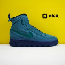 Nike Air Force 1 Shell WMNS Sneakers Blue Green Shoes BQ6096-001