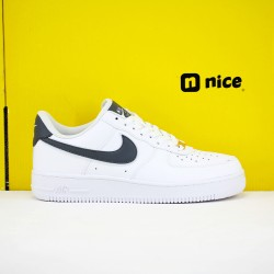 Nike Air Force 107 Unisex Shoes White Black Sneakers CT8824-100