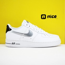 World Wide Nike Air Force 1 AF1 XHU Unisex Shoes White Silver Sneakers CZ4206 100