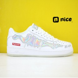 Nike Air Force 1 Low AF1 19s Unisex Shoes White Blue Sneakers BQ7541 102