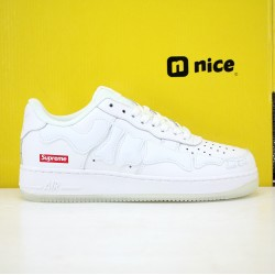 Nike Air Force 1 Low AF1 19s Unisex Shoes White Sneakers BQ7541 100