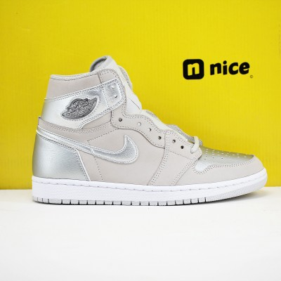 Nike Air Jordan 1 High OG Japan Basketball Shoes DC1788-029 AJ1 Mens Silver Sneakers