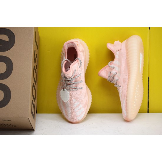 Adidas Yeezy 350 v3 Pink/Cloud White Fresh Shoes WMNS FC9217 Sneakers Free Shipping