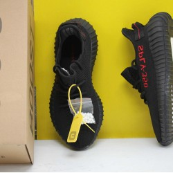 "Adidas Yeezy Boost 350 V2 ""Black/Red"" Core Black/Red Fresh Shoes Unisex Sneakers CP9652"
