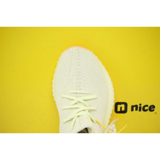 Adidas Yeezy Boost 350 V2 Butter Yellow/LTgreen Fresh Shoes Unisex Sneakers F36980 Online Shop