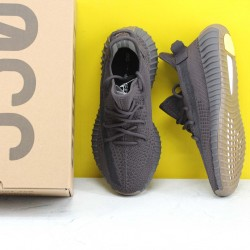 """Adidas Yeezy Boost 350 V2 """"Cinder"""" Black Fresh Shoes Unisex Sneakers FY2903"""