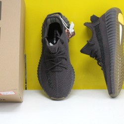 """Adidas Yeezy Boost 350 V2 """"Cinder Reflective"""" Black Fresh Shoes FY4176 Unisex Sneakers"""