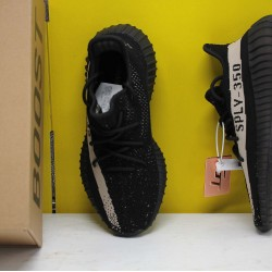 """Adidas Yeezy Boost 350 V2 """"Core Black White"""" Black/White Fresh Shoes BY1604 Unisex Sneakers"""