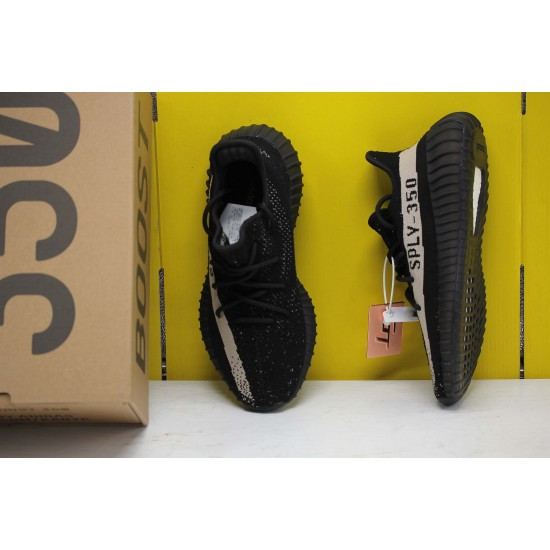 Adidas Yeezy Boost 350 V2 Core Black White Black/White Fresh Shoes BY1604 Unisex Sneakers Free Shipping