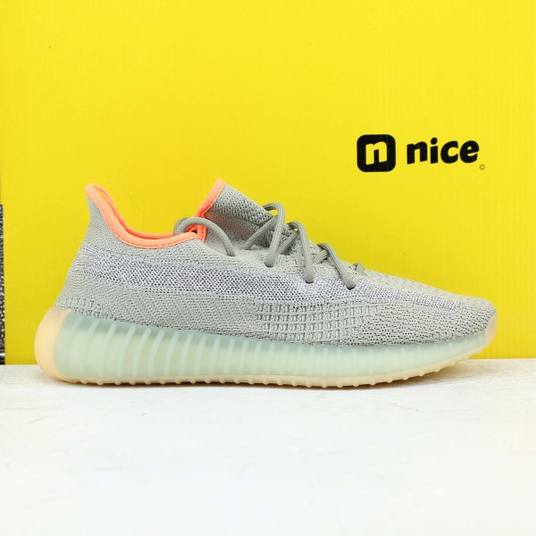 "Adidas Yeezy Boost 350 V2 ""Desert Sage"" Fresh Shoes Unisex Sneakers FX9035"