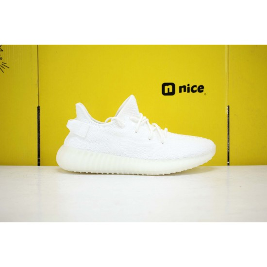 Adidas Yeezy Boost 350 V2 Cream/Triple White White Fresh Shoes CP9366 Unisex Sneakers Free Shipping
