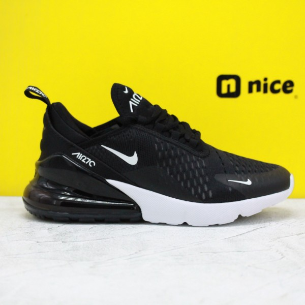 Nike Air Max 270 Black/White Fresh Shoes AH6789 001 WMNS Sneakers