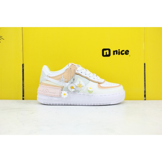 Nike WMNS Air Force 1 Shadow Tropical Twist Womens Fresh Shoes CK3172 002 AF1 Sneakers Outfit Online Shop