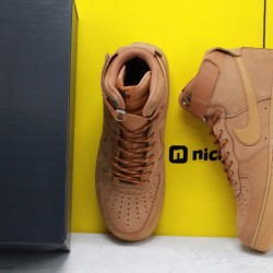 """Nike Air Force 1 Low 07 LV8 """"Wheat/Flax"""" Brown Fresh Shoes Unisex AF1 Sneakers CJ9178 200"""