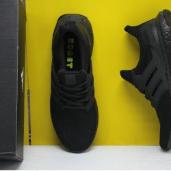"Adidas Ultra Boost 4.0 All Black ""Primeknit 360"" Fresh Shoes FV7280 Mens Sneakers"