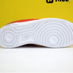 Nike Air Force 1 '07 AF1 Unisex Shoes Red White Black Sneakers CJ1379-600