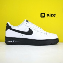 Nike Air Force 1'07  Low AF1 Unisex Shoes Grey White Black Sneakers CK7663 101