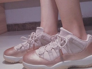 3 Best Selling Nike Shoes For Women,Air Jordan 11 Rose Gold  PInk And White For Sale.